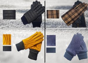 Swede Glove with Knit